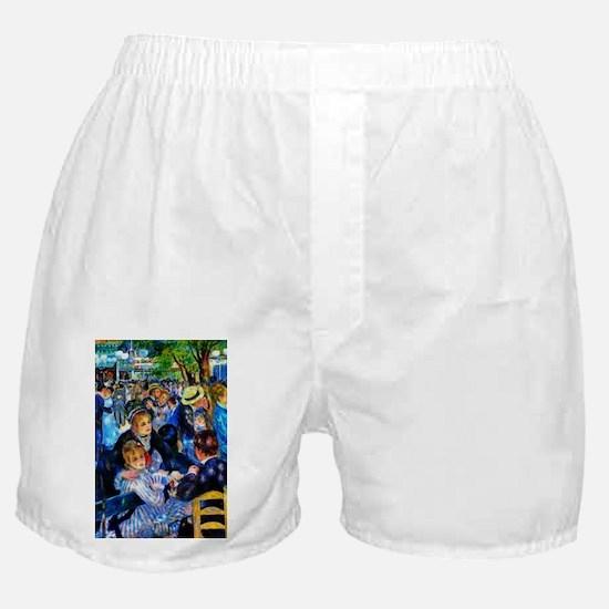 Renoir: Dance at Moulin d.l. Galette Boxer Shorts