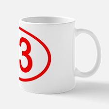 Number 23 Oval Mug