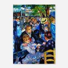 Renoir: Dance at Moulin d.l. Galette 5'x7'Area Rug
