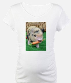 Micro pig with carrot Shirt