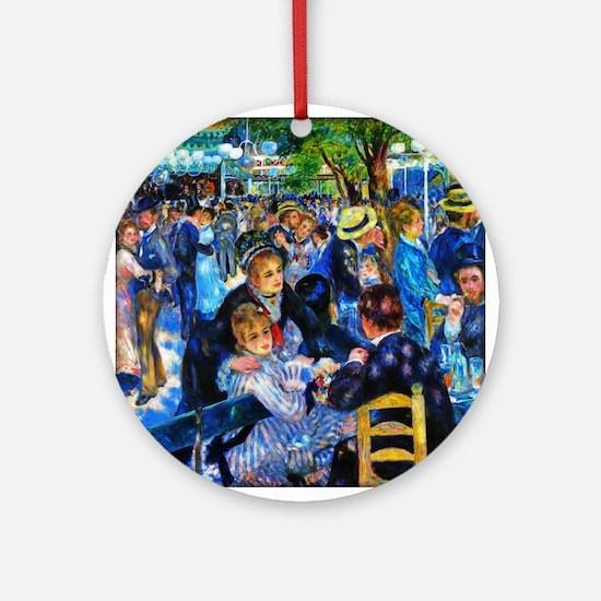 Renoir: Dance at Moulin d.l. Galette Ornament (Rou