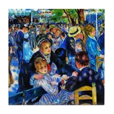 Renoir: Dance at Moulin d.l. Galette Tile Coaster