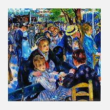 Renoir: Dance at Moulin d.l. Galette Tile Coaster
