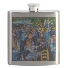Renoir: Dance at Moulin d.l. Galette Flask