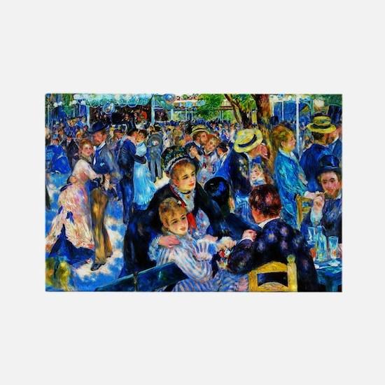 Renoir: Dance at Moulin d.l. Galette Rectangle Mag
