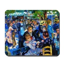 Renoir: Dance at Moulin d.l. Galette Mousepad