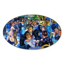 Renoir: Dance at Moulin d.l. Galette Decal