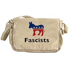 Democrats are Fascists Messenger Bag