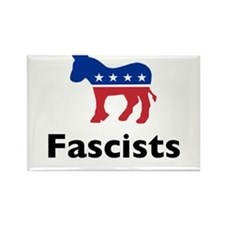 Democrats are Fascists Rectangle Magnet