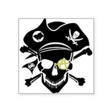Black Captain Sticker