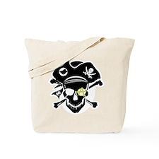 Black Captain Tote Bag