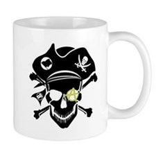 Black Captain Mug