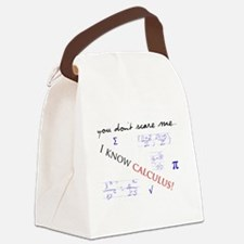 Calculus.png Canvas Lunch Bag