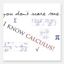 "Calculus.png Square Car Magnet 3"" x 3"""