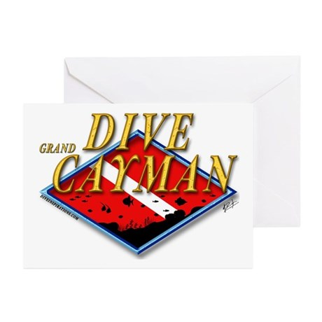 Dive Grand Cayman Greeting Cards (Pk of 10)