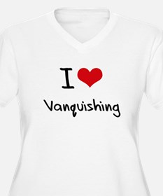 I love Vanquishing Plus Size T-Shirt