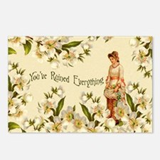 You've Ruined Everything Postcards (Package of 8)