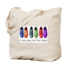 Bowling Shoes  Tote Bag