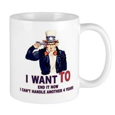I can't handle another 4 years Mug