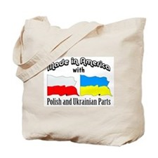 Polish & Ukrainian Parts Tote Bag