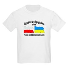 Polish & Ukrainian Parts T-Shirt
