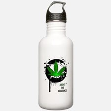 Above the ignorance Water Bottle