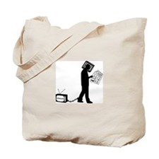 Anti-media Tote Bag
