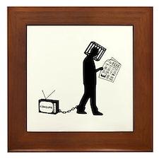 Anti-media Framed Tile