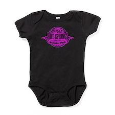 hot springs 2 Baby Bodysuit