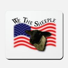 We the Sheeple Mousepad