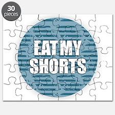 Eat My Shorts - Blue Puzzle