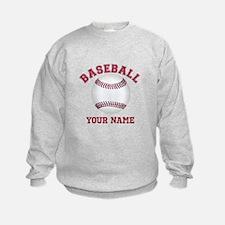 Personalized Name Baseball Sweatshirt
