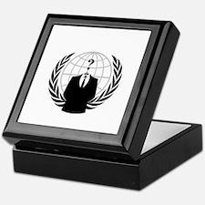 Anonymous Keepsake Box