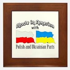 Polish-Ukrainian Framed Tile