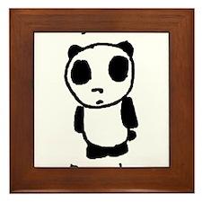 Sad Panda Framed Tile