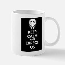 Keep Calm and Expect Us Mug