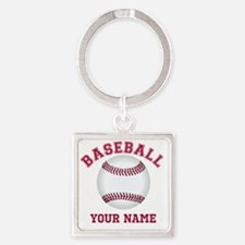 Personalized Name Baseball Keychains