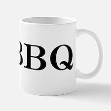 I love BBQ Small Mug