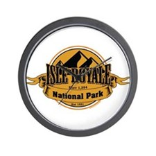 isle royale 5 Wall Clock