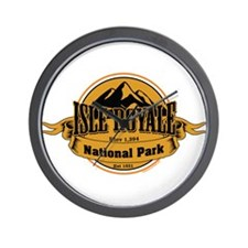 isle royale 4 Wall Clock