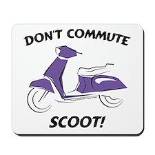 Don't Commute (Purple) Mousepad