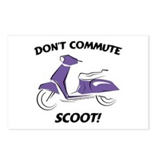 Don't Commute (Purple) Postcards (Package of 8)