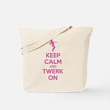 Keep calm and twerk on Tote Bag
