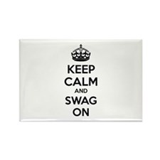 Keep calm and swag on Rectangle Magnet