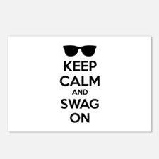 Keep calm and swag on Postcards (Package of 8)