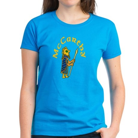 McCarthy Celtic Warrior Women's Dark T-Shirt