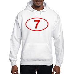 Number 7 Oval Hoodie