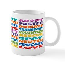 Adopt-Foster-Rescue2 Small Mug