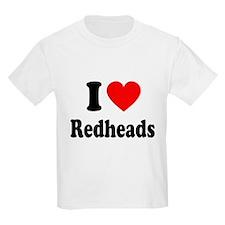 I Heart Readheads T-Shirt