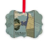 National park service 100 years Picture Frame Ornaments
